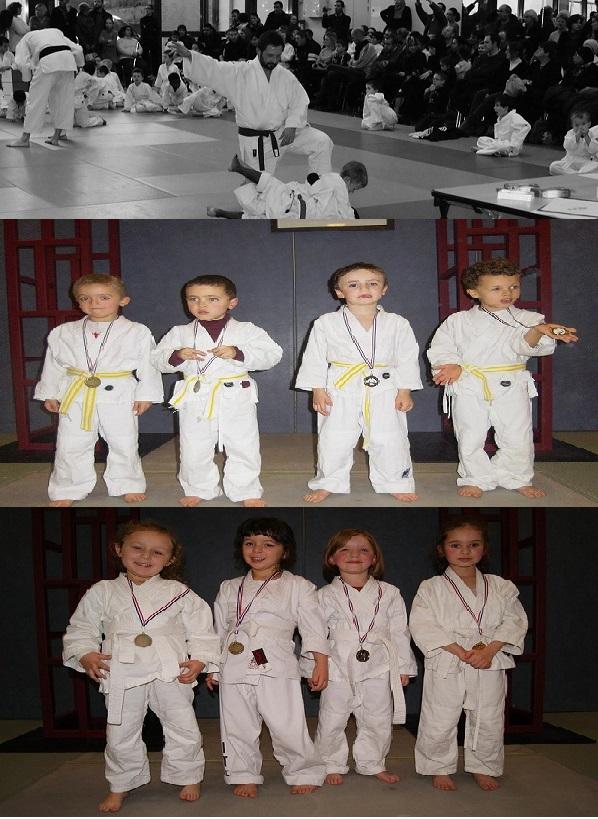 Tournoi Ecole de Judo le 14/12/2013