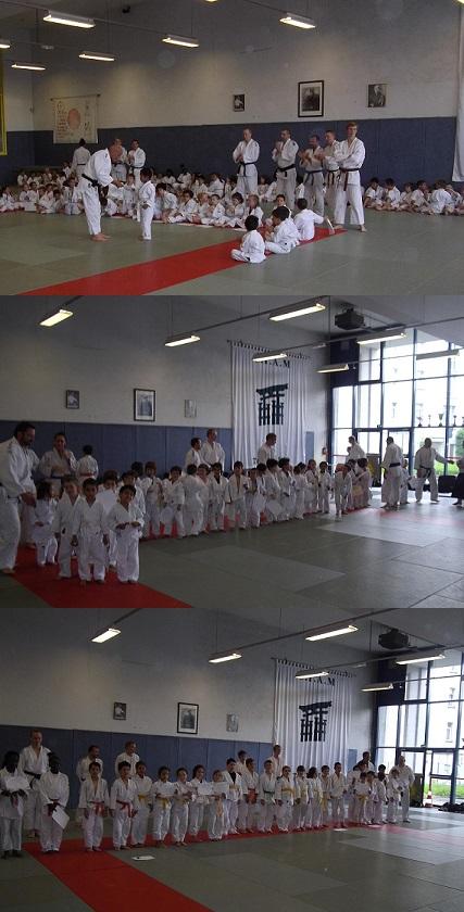 Passage de Grade chez Les Jeunes Judokas d'Alain