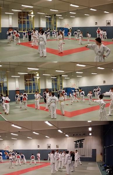 La sueur du Taekwondo