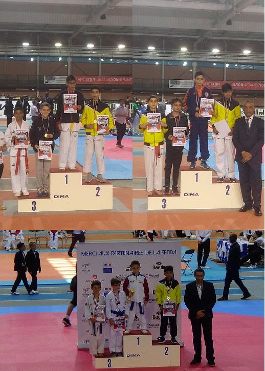 Championnat de France cadets et coupe de France minimes TAEKWONDO 14 et 15 Mai 2016 a Lyon