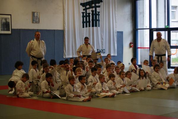 Passage De Grade Judo 4/6 ans