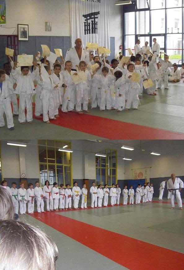 Passage de Grade Judo pour la section d'Alain ce Samedi 22 Juin 2013